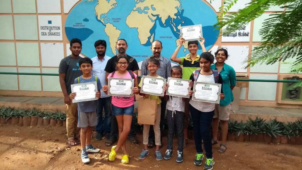 Chennai storm scientific training snake rescue certification workshop